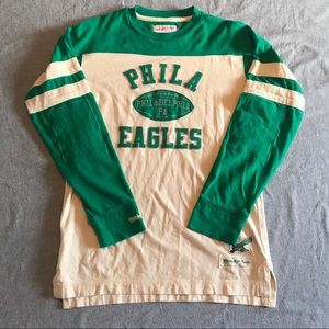 Mitchell and Ness Phila Eagles Pullover